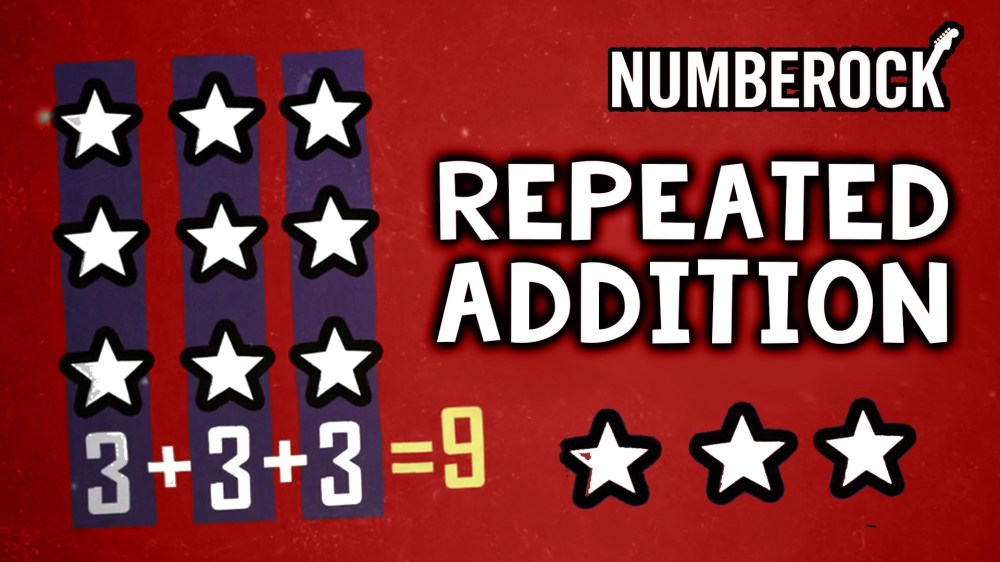 medium resolution of Repeated Addition Song   An Equal Groups Multiplication Video