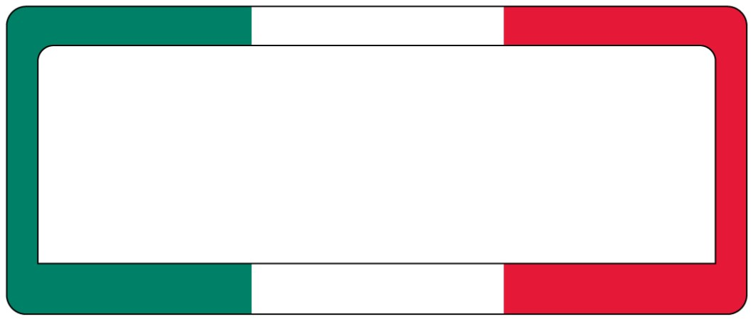 Italian Flag Picture Frame | Bestpicture1.org