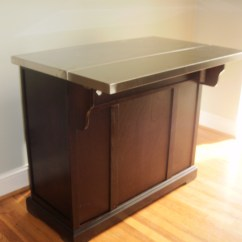 Portable Kitchen Island With Drop Leaf American Cabinets Home Office Decorating Ideas