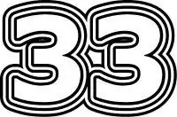number thirty three