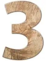 three wood