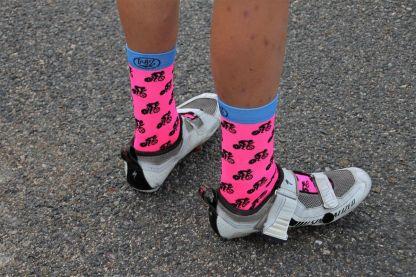 Calcetines de ciclismo divertidos