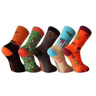 calcetines divertidos de algodón