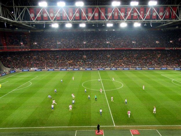 Mecz na Amsterdam Arena