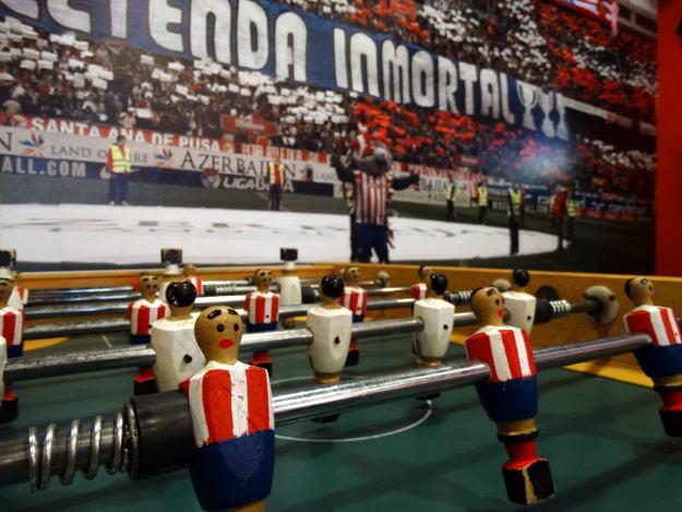 Wnętrze Stadionu Vicente Calderon