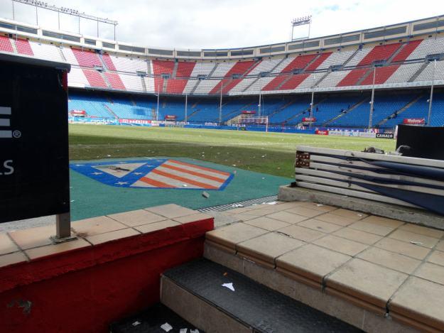 Tunel stadionu Vicente Calderon