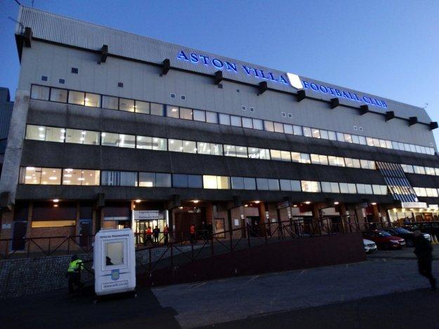 Trybuna stadionu Aston Villi
