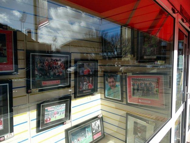 witryna w sklepie w Nottingham