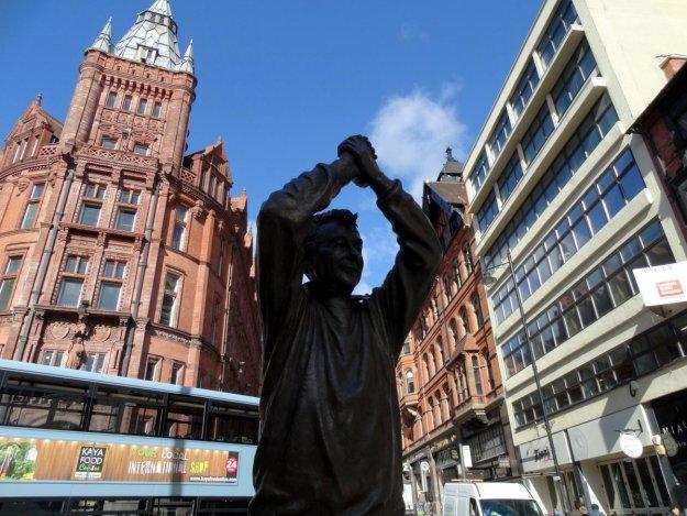Nottingham, pomnik Briana Clougha