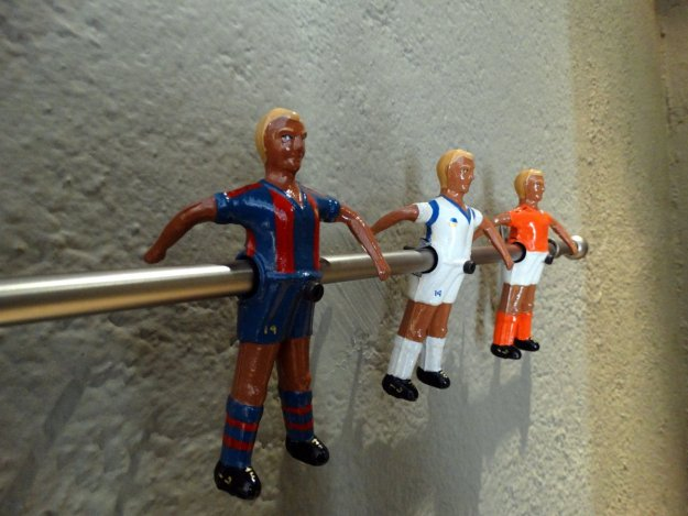 Wieszak we flagowym sklepie Johana Cruyffa