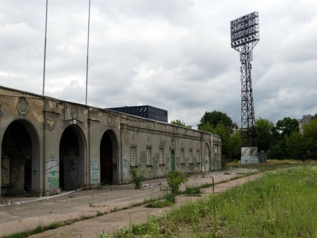Stary stadion Żalgirisu Wilno