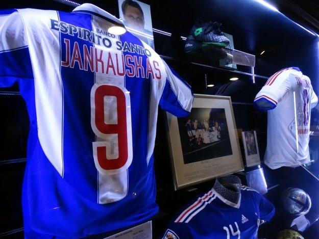 koszulka Edgarasa Jankauskasa