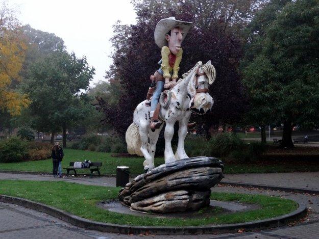Lucky Luke w Charleroi