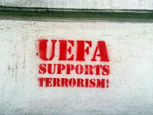 UEFA suports terrorizm