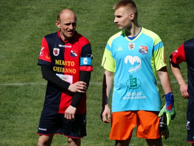 Piłkarze Chełminianki Chełmno