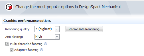 Improving Rendering In Design Spark