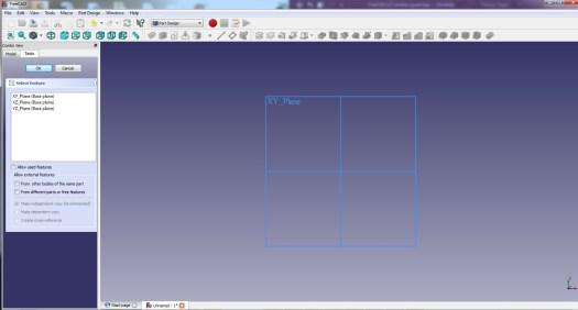 FreeCad 0.17 Geometry
