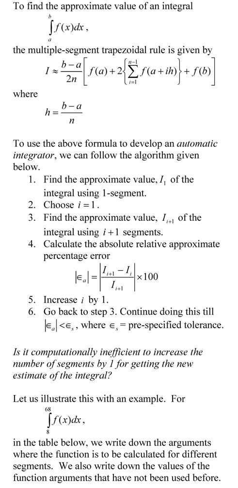 Trapezoidal rule – The Numerical Methods Guy