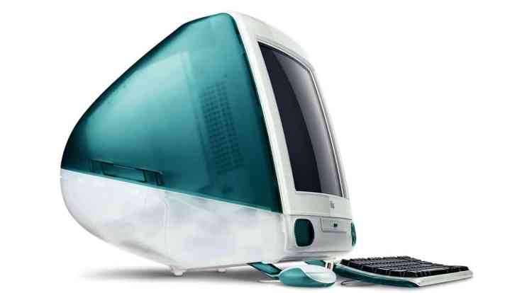 First iMac, designed by Jony Ive and his team