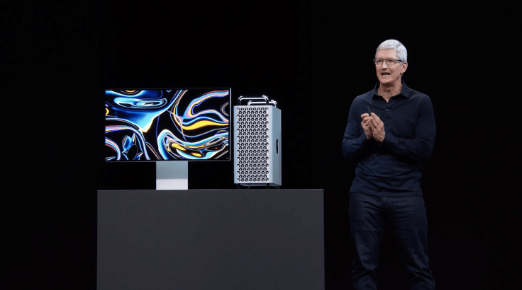 The new redesigned Mac Pro