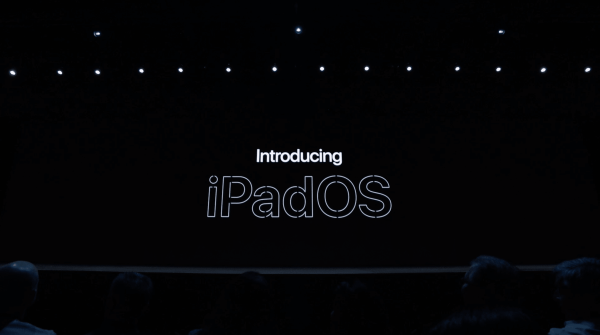 iPadOS introduced