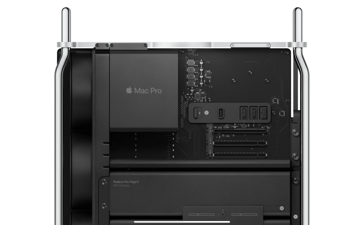 Mac Pro internal view