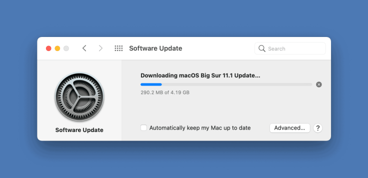 Size of macOS updates are still big