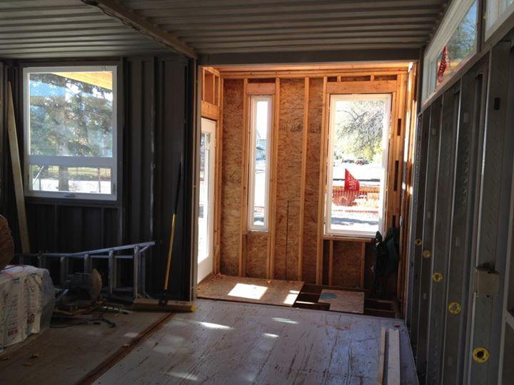 Proyecto sarah house utah casa container todos los detalles paso a paso y foto a foto - Shipping container homes utah ...