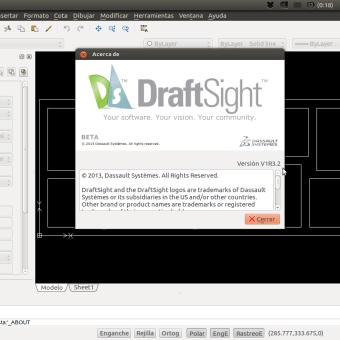 DrafSight para GNU/Linux  será solo de 64bits en Octubre de 2014