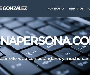 Jorge González diseño profesional WordPress … con mucho cariño