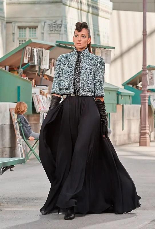 Le défilé Chanel haute couture automne-hiver 2018-2019