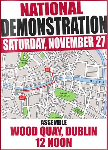 November 27th demo poster