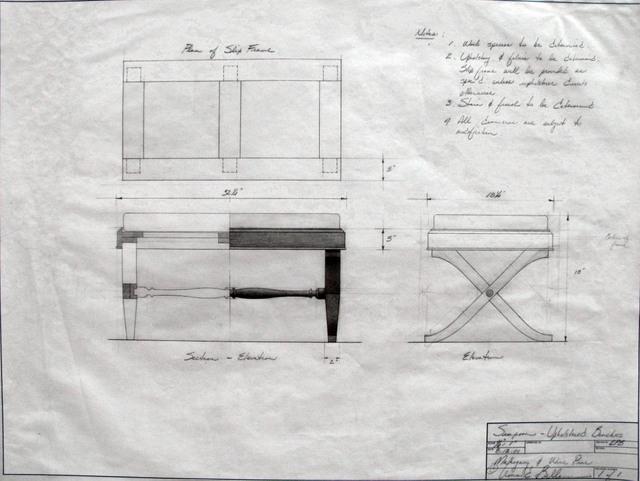8 bellanca benches drwg I