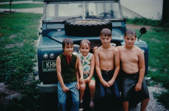 1969, My brothers, sister and me