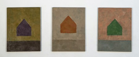 LaVerdiere-TriptychShrineSeries2012-Encaustic12x18_
