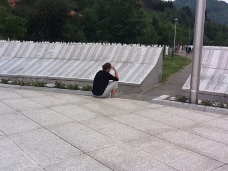 Fritz at Srebrenica