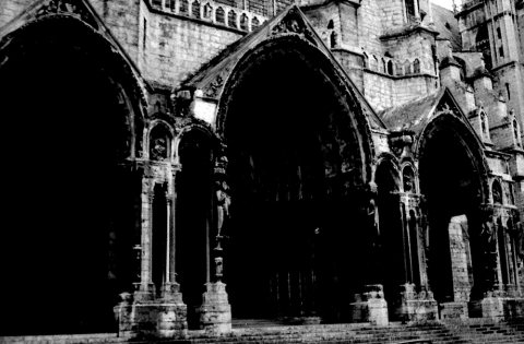 13 dark church exterior