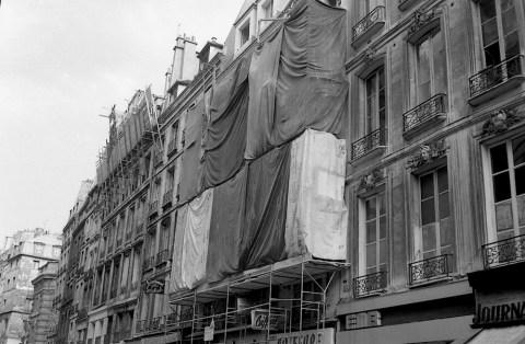 4 street scaffolding