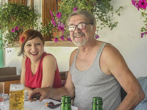 Sejla Sehabovic and Goran Simic, Sarajevo 2014