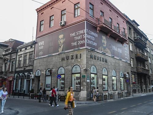 Sarajevo street corner June 2014