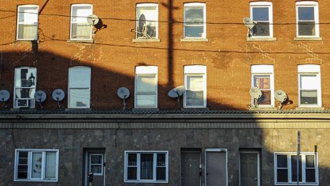 Hamilton ON facade