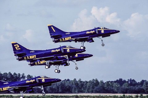 Blue Angels A4 Skyhawk