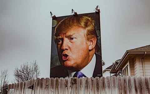 Donald Trump photo by Tony Webster