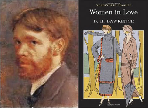 d-h-lawrence-women-in-love collage
