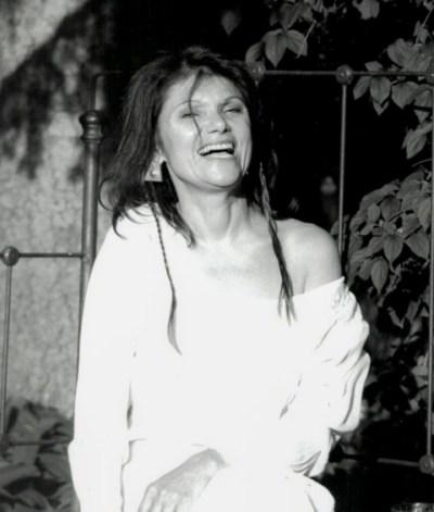 karen-mulhallen-wearing-indian-dress-1996