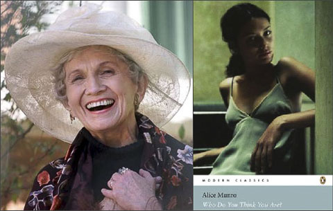 Alice Munro who-do-you-think-you-are collage