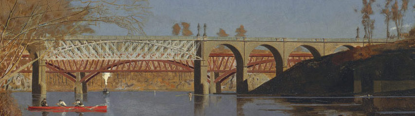 Thomas Eakins Max Schmitt In A Single Scull