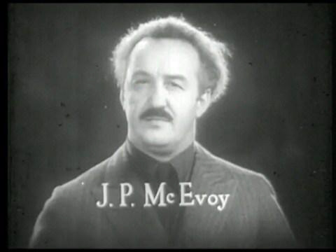 J P McEvoy still from Woman Accused 1933
