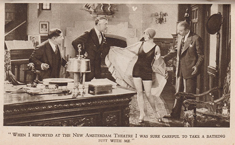 Scene from movie Show Girl starring Alice White 2