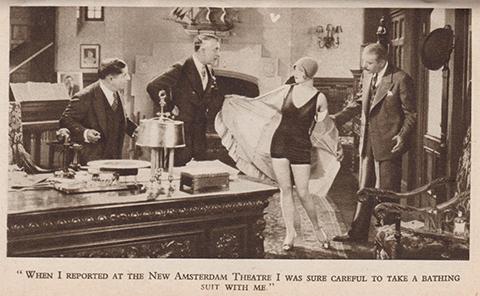 Scene from movie Show Girl starring Alice White 2